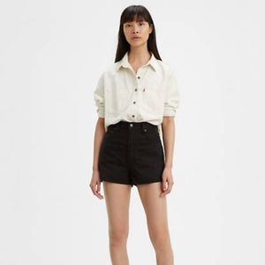 NEW LEVI'S X Wellthread Ribcage Jean Shorts